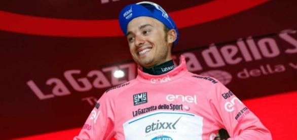 Gianluca Brambilla se adjudicó la octava etapa y el liderato del Giro d'Italia