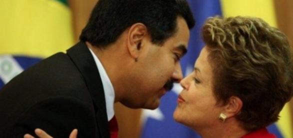 Maduro e Dilma Rousseff - Google