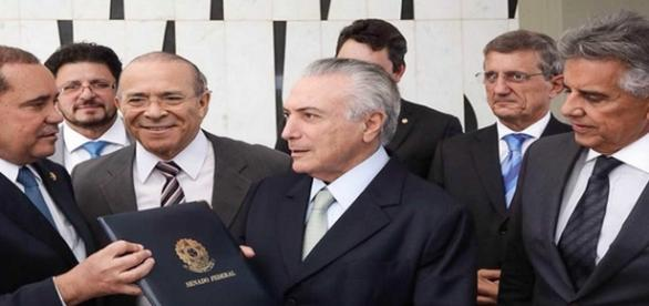 Michel Temer assumiu a presidência do Brasil.