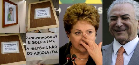 Pegadinha da Dilma acaba mal - Foto/Montagem