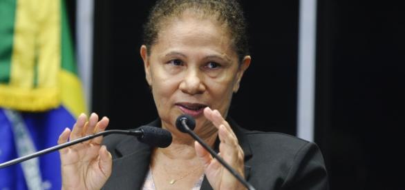 Senadora Regina Sousa do PT se sentiu ofendida por Gentili.
