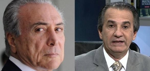 Silas Malafaia e Michel Temer oram pelo Brasil
