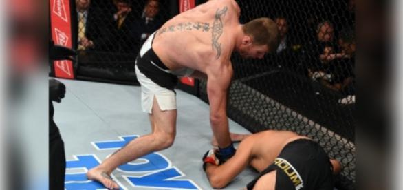 Brasileiro não foi feliz no UFC198