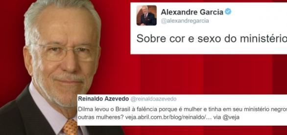 Alexandre Garcia compartilha polêmica