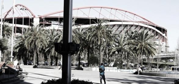 Estádio da Luz em Lisboa, Portugal