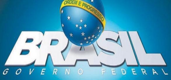 Logomarca do governo escolhida por filho de presidente