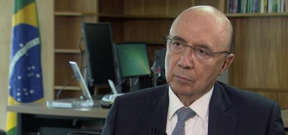 Novo ministro da fazenda Henrique Meirelles