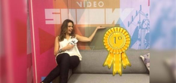Público pede Ana Paula na bancada do 'Vídeo Show'