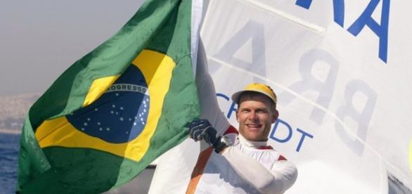 Robert Sheidt é bicampeão olímpico, uma das esperanças do Brasil