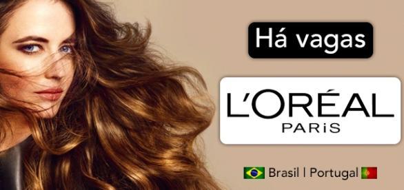 Vagas na L'Oréal no Brasil e em Portugal. Foto: Reprodução Loreal Professionnel.