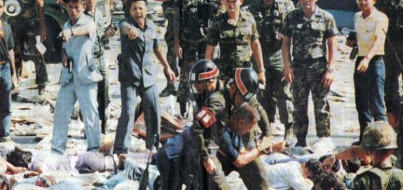 Bangkok 1992, ziua în care pe 17 mai au fost împuşcaţi 450 de oameni