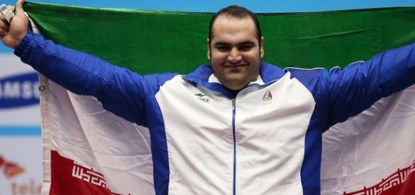 Destaque Mundial do Irã, Behdad Salimi, é dúvida para estar nos jogos do Rio, devido à uma lesão.