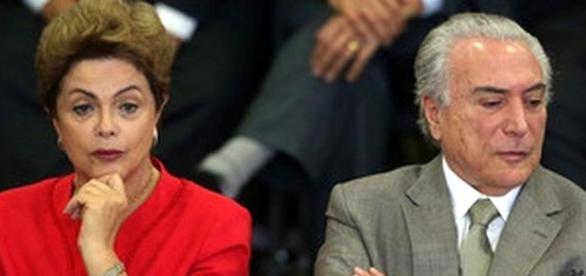 Dilma Rousseff, presidente afastada.