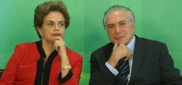 Enquanto Dilma está afastada, Temer vem promovendo mudanças na EBC (Fonte: Reprodução/R7)