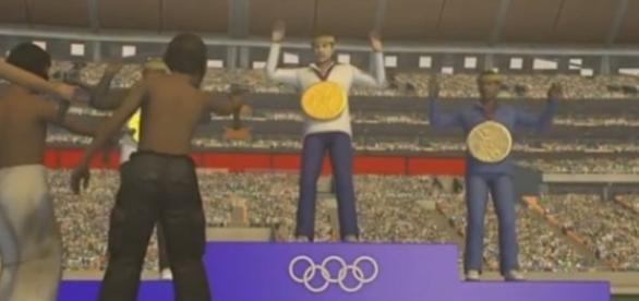 Imagem reprodução de animação no YouTube