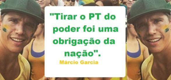 Márcio Garcia pede eleições diretas