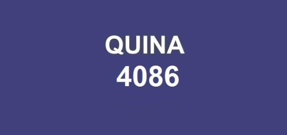 Sorteio do prêmio de 500 mil reais; Resultado da quina 4086 será anunciado nessa terça-feira, dia 17.