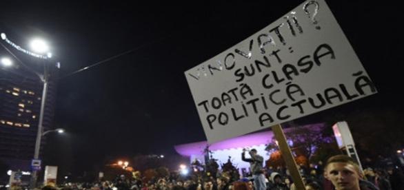 Toți românii sunt chemați la proteste pașnice