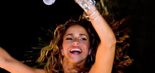 Daniela Mercury não vai participar do governo Temer (Foto Wikipedia)