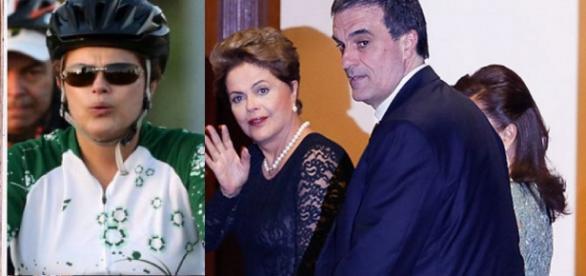 Dilma Rousseff e José Cardozo - Foto/Reprodução