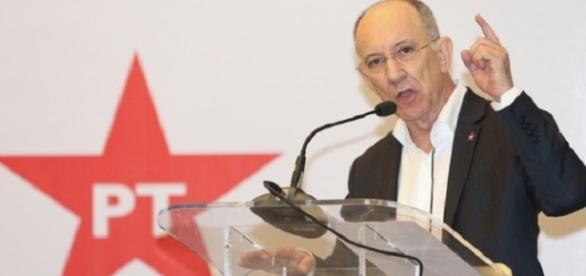 Il leader del Partito dei Lavoratori, Rui Falcão.