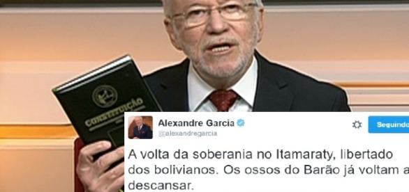 Jornalista da Globo continua a criticar o PT