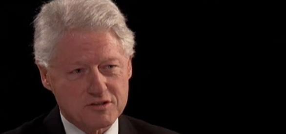 L'ex presidente statunitense Bill Clinton.