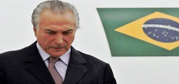 Michel Temer, presidente ad interim del Brasile.