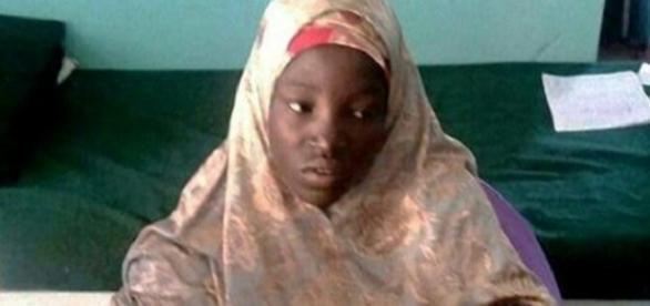 Amina Ali foi encontrada vagando pela floresta de Sambisa