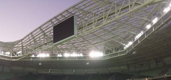 Arena do Palmeiras pode complicar andamento do time na Copa do Brasil 2016.