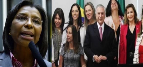 Deputada negra defende Temer, acusado de não apoiar diversidade
