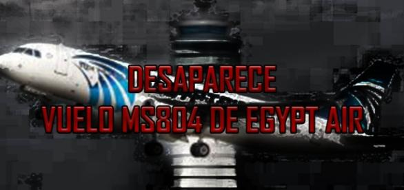 Desaparece MS804 de Egypt Air.