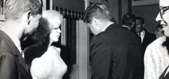 Marilyn Monroe și John Kennedy