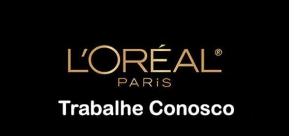 Oportunidade de trabalho na L'Oreal.