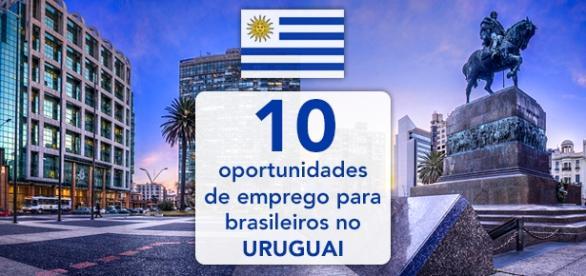 Oportunidades de emprego para brasileiros no Uruguai - Foto: Reprodução Infoseuroteiro