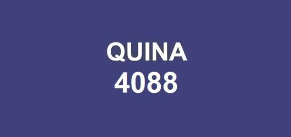 Prêmio de R$ 1,8 milhão será sorteado nessa quinta-feira; Resultado da Quina 4088 a ser divulgado pela CAIXA.