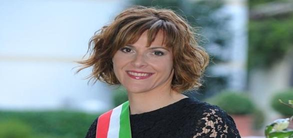 Angela Colmellere, primar în Miane. Foto: facebook