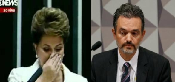 Dilma e procurador - Foto/Reprodução