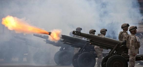 Fotografía de Militares de servicio