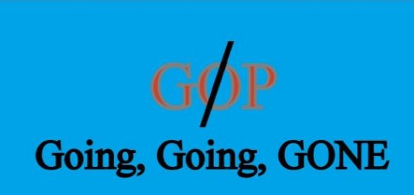 Goodbye GOP, you thought we were immaterial, nope - you are.