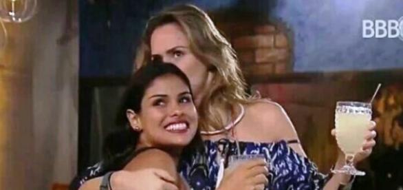 Munik e Ana Paula no BBB16 (Reprodução/Globo)