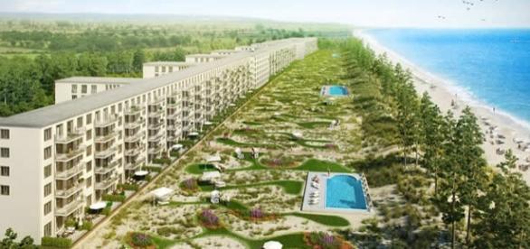 """Planul de renovare a celui mai mare hotel din lume- """"Colosul din Prora"""""""