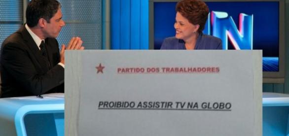 PT proíbe que filiados assistam à Globo