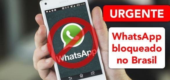 WhatsApp Bloqueado no Brasil. Foto: Reprodução Androidpit.