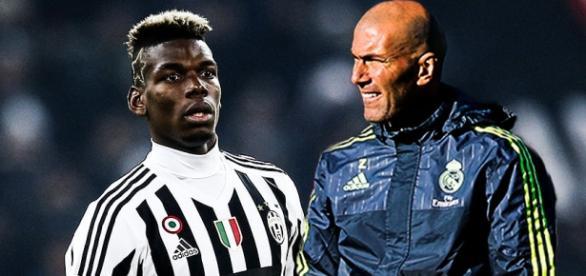 Zinedine Zidane ha pedido a Pogba si se marcha James