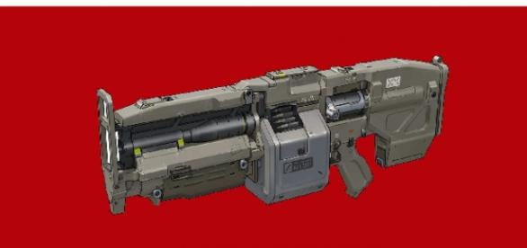 Doom Rocket Launcher courtesy of id software