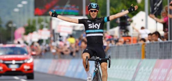 El español Mikel Nieve del Sky Team se adjudicó la etapa 13 del Giro de Italia