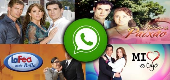 Fique por dentro das novelas mexicanas pelo WhatsApp.