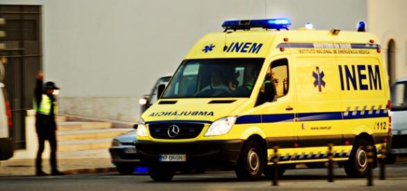 INEM chegou de emergência mas não conseguiu salvar o homem