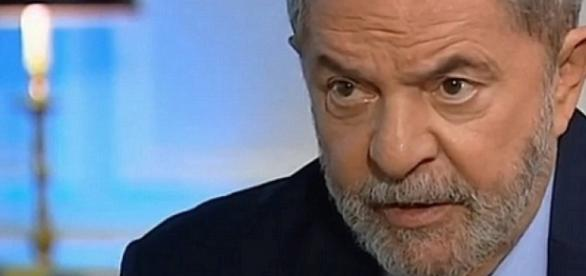 Lula em entrevista a jornalistas estrangeiros